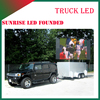 hot video player p6/p8/p10 full color three sides food truck outdoor advertising led display screen panele sign