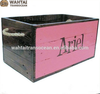 Factory Direct Sale Mini With Handle Wooden Crate For Sale