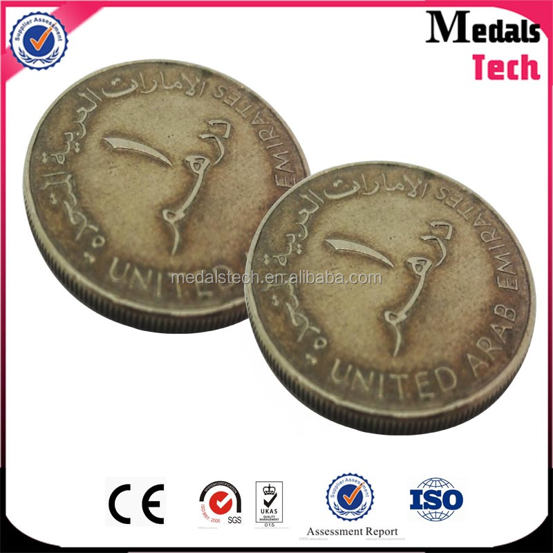 china wholesale Metal crafts old coin price gold challenge coin at factory price