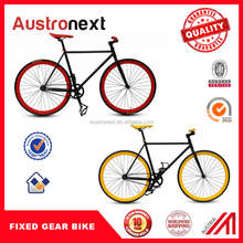 Hot Selling 700C colorful fixie fixed gear bike single speed fixie bikes Drop Handle Bar Fixed Gear Bike for sale with CE