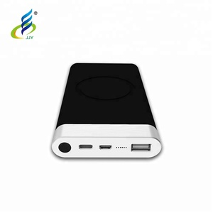 2018 factory new mold wireless charging power bank qi