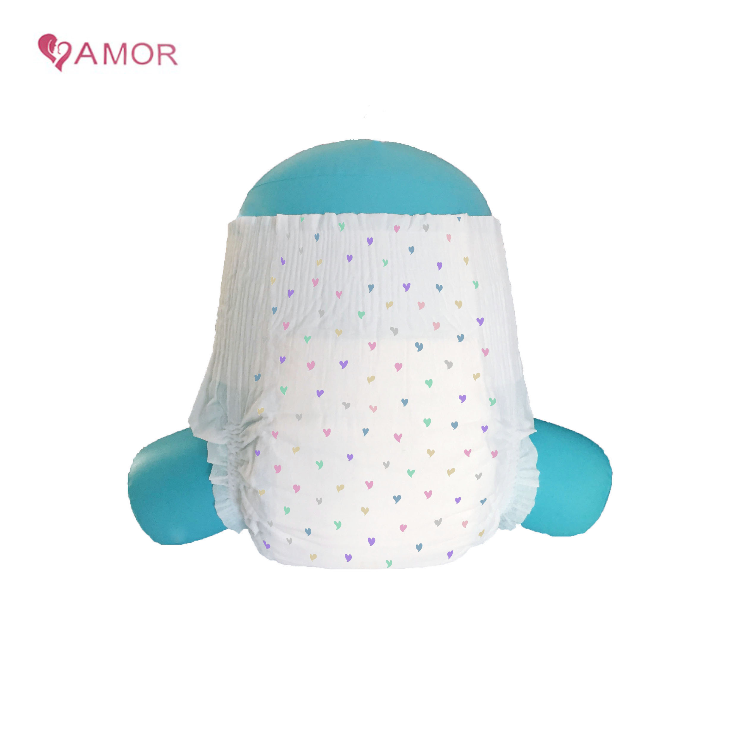 OEM disposable baby cloth diaper made in China