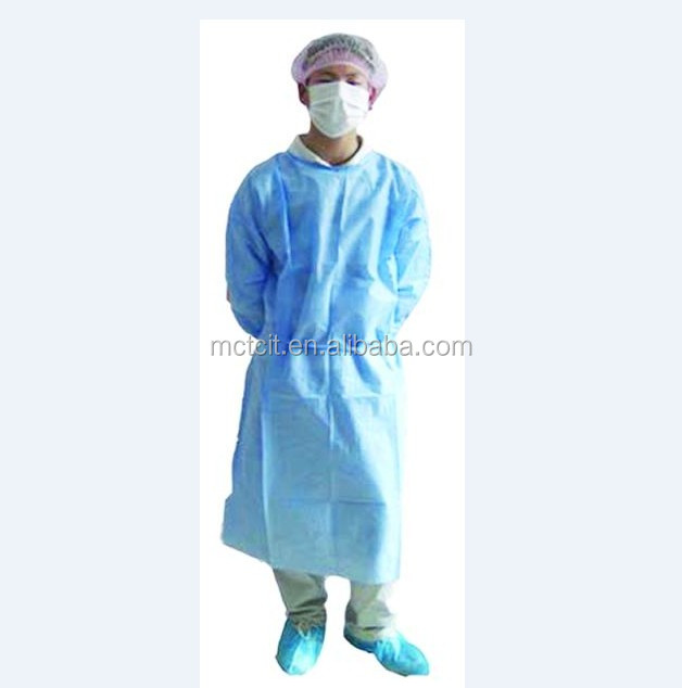 High Risk Reinforced Nonwoven Surgical Gown
