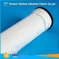 Non woven 1 micron air filter bag for dust collector