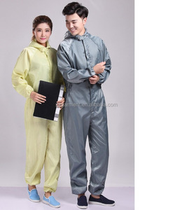 OEM spay coveralls anti dust coverall workwear used in factory printing spaying