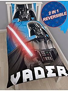 Star Wars Darth Vader Universe Single/US Twin Duvet Cover + Darth Vader Go Glow® Hero