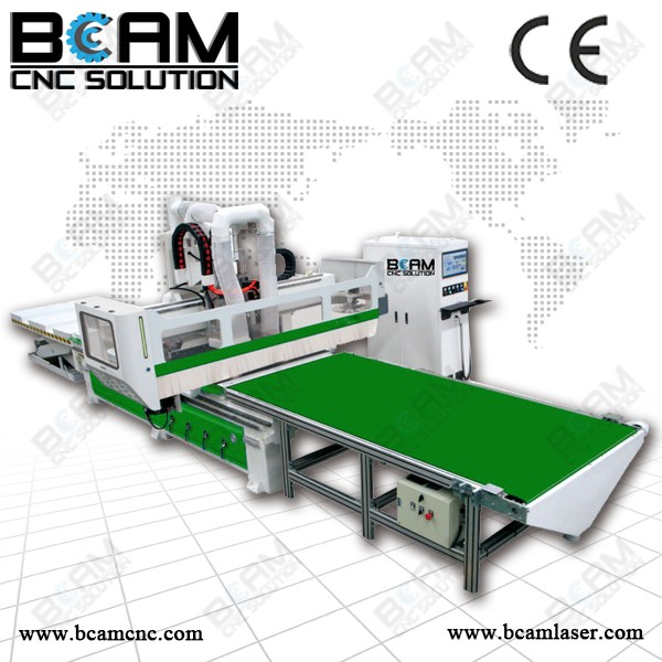 High-tech auto feeding moulding router for wood