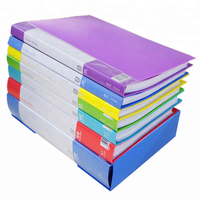 A4/Letter Size Display File Book Clear 60 Pockets