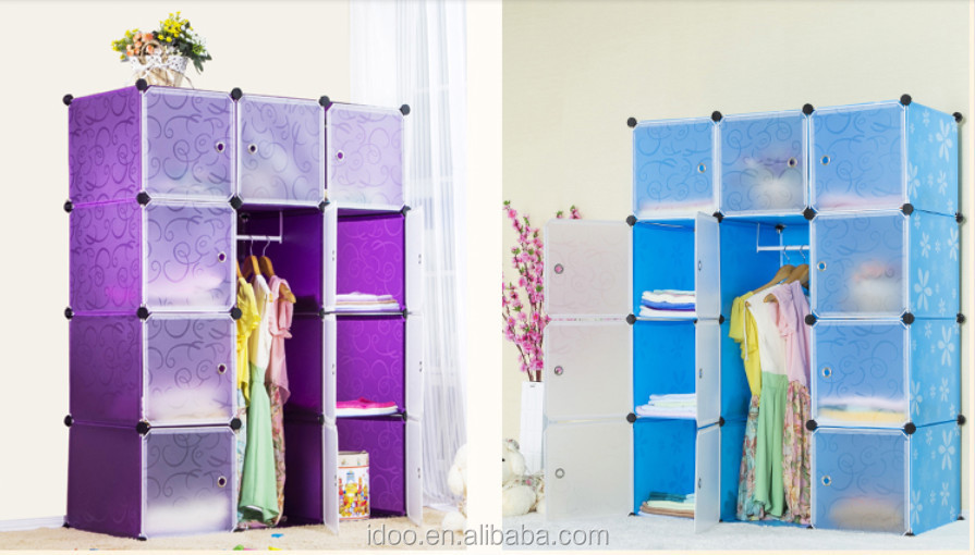 Featured Plastic Storage Cubes Stackable Magic Cube Clothes Cabinets Living  Room Furniture Fhal
