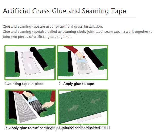 Migliore qualità erba artificiale per il giardino, paesaggio erba artificiale astro turf con il prezzo poco costoso