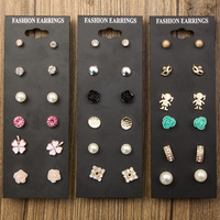 Fashion Earring Designs New Model Earrings Set Wholesale