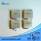 Factory customized 3.7v 700mah li-ion 053048 battery for medical device