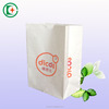 China factory wholesale fast food packaging paper bag/ accept custom order square bottom paper bag