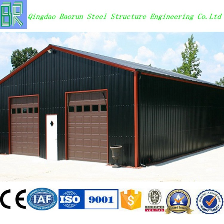 Cheap steel structure building prefab garage