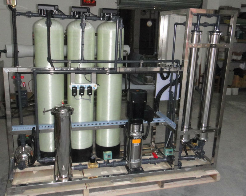 Commercial ro water purifier water desalination plants
