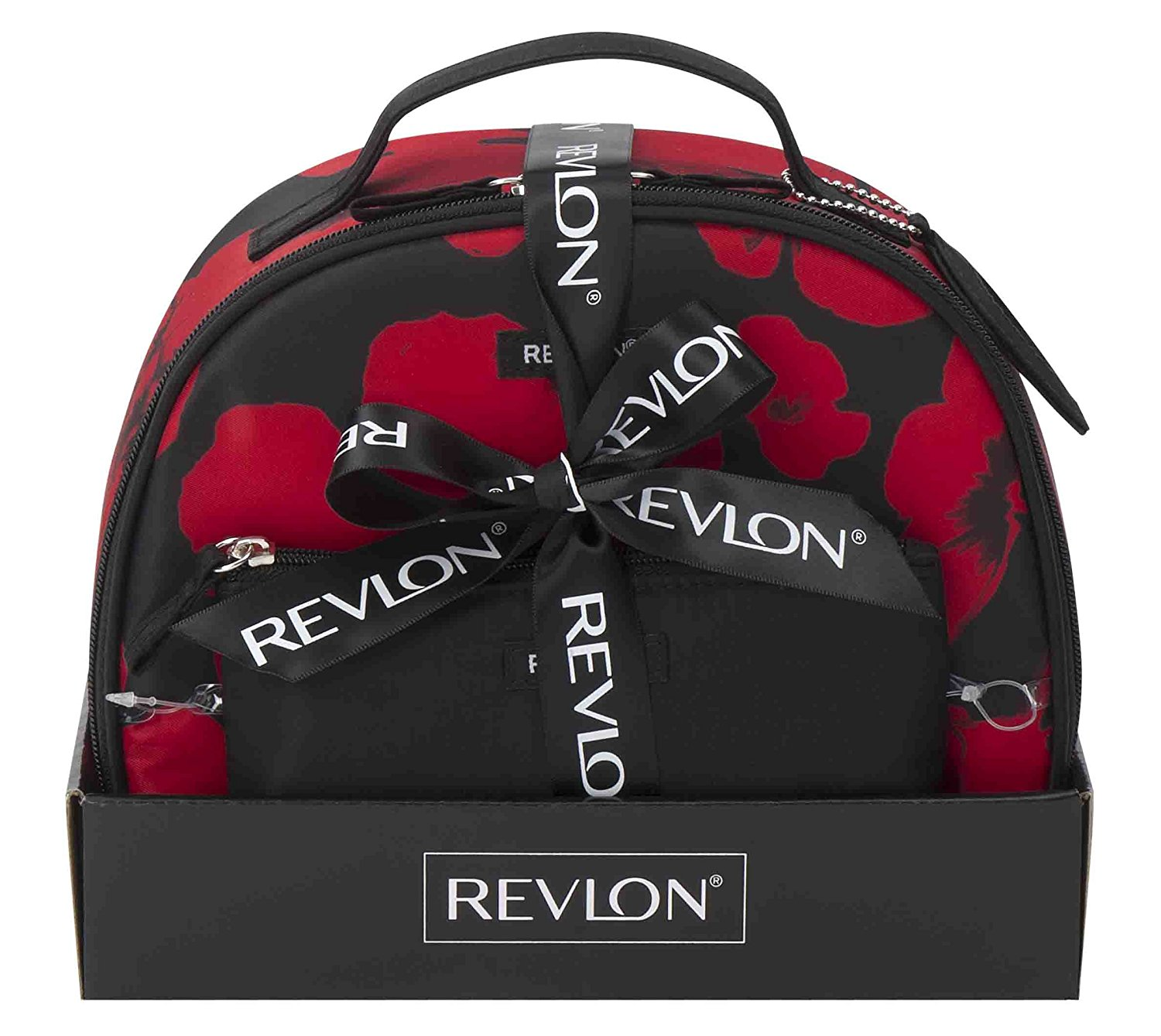 Get Quotations Revlon Enchanted Fl Round Top Train Cosmetic And Toiletry Bags Set 3 Piece
