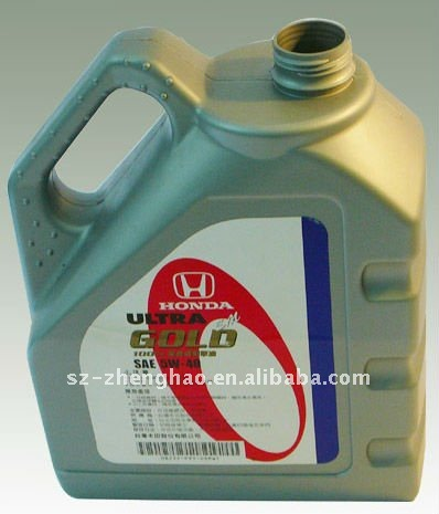 5L Disposable Motor Oil Plastic Bottle with High Qaulity