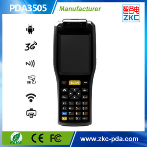 Android pda 3505 data terminal with built in thermal printer , 1D/2D barcode scanner , nfc /rfid reader