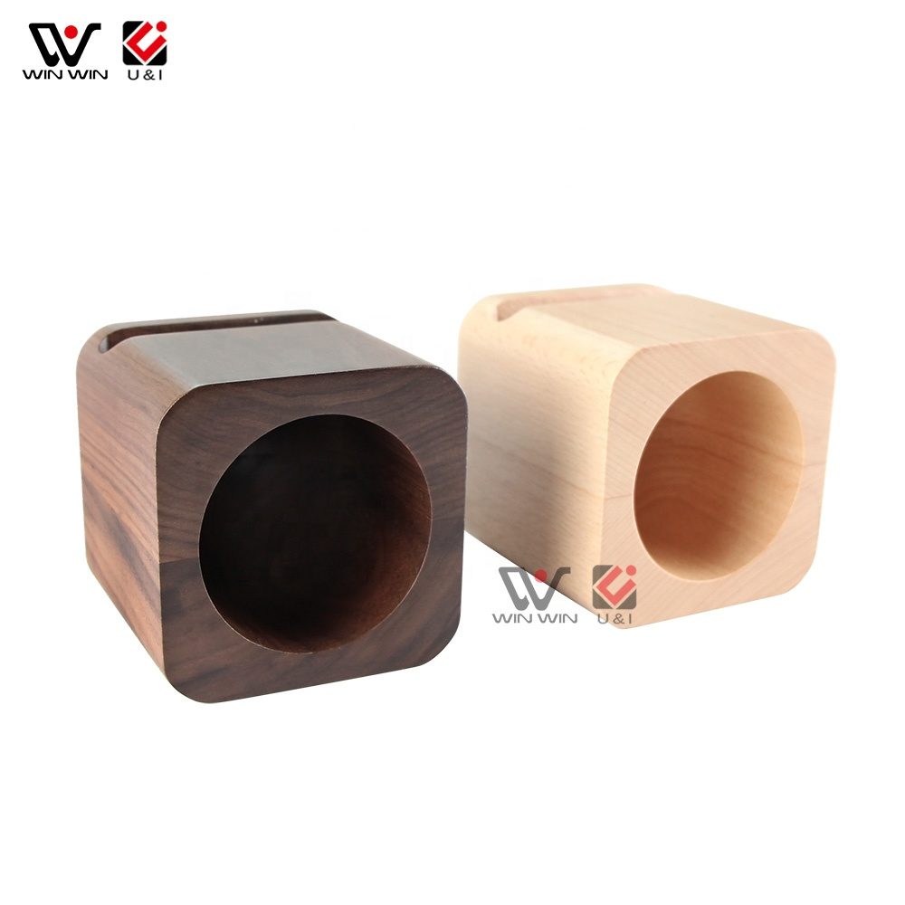 Wood Speaker with Amplifier Wooden Passive Amplifier Home Wood Speaker