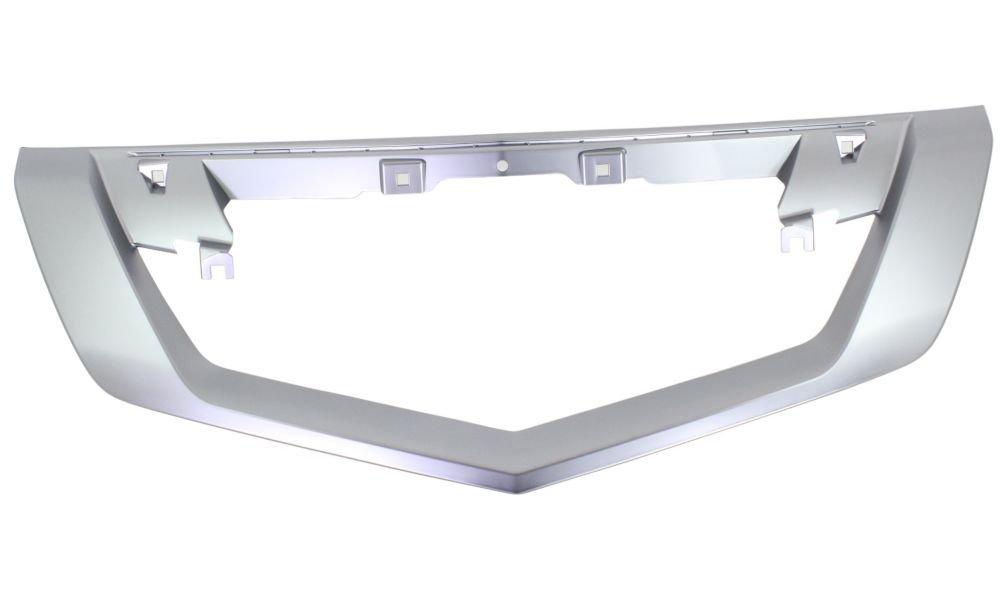 Evan-Fischer EVA191720634 Grille Trim Molding for 2009-2011 Acura TL Plastic Satin Replaces Partslink# AC1210114