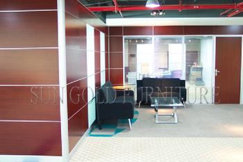 Modern Full Height Interior Room Divider Soundproof Office