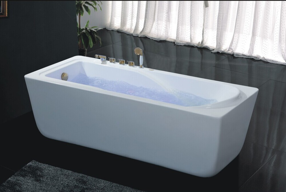Hs b532 antique style bathtubs 180x80 european style for Narrow deep soaking tub