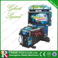 Simulator game machine, Chinese simulator game, shooting game machine
