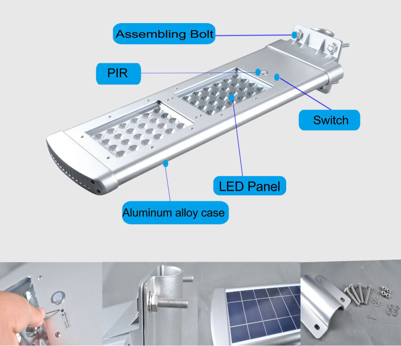 Best Selling 1200 Lumens Wide Lighting Area Led Solar Cell