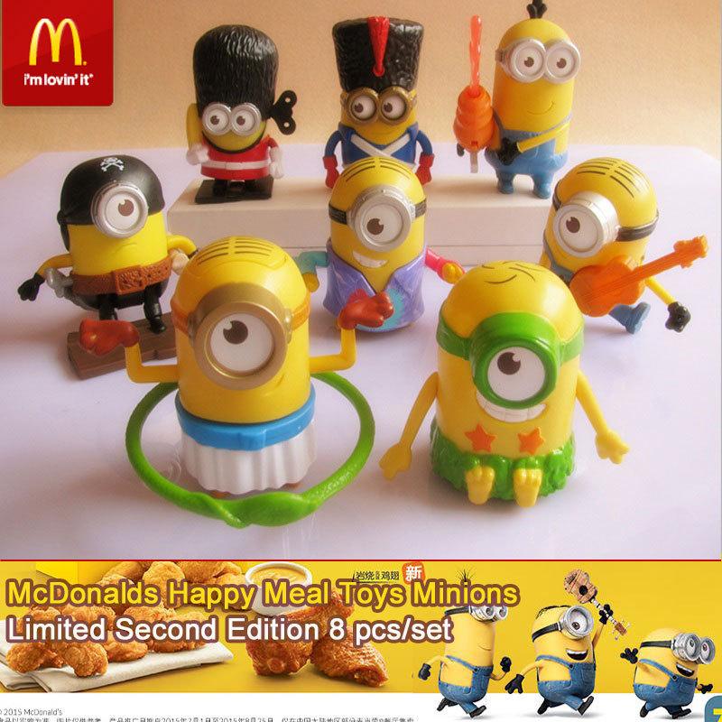 Minions McDonalds Happy Meal Toys Minions, all 8PCS. 2015 ...