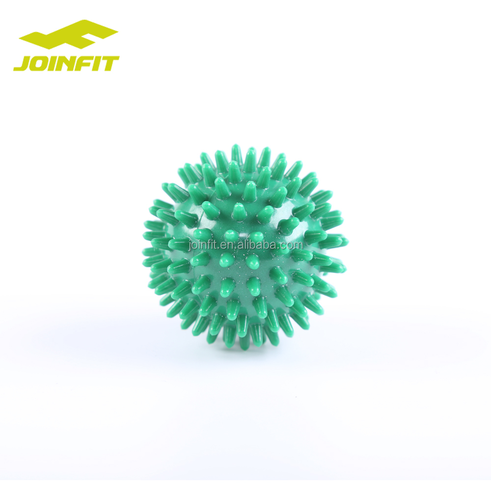 Massage Ball - Spiky for Deep Tissue Foot, Back, Plantar Fasciitis & All Over Body Deep Tissue Muscle Therapy