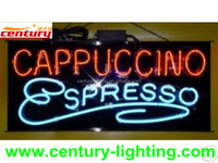 electronic sign neon light letters