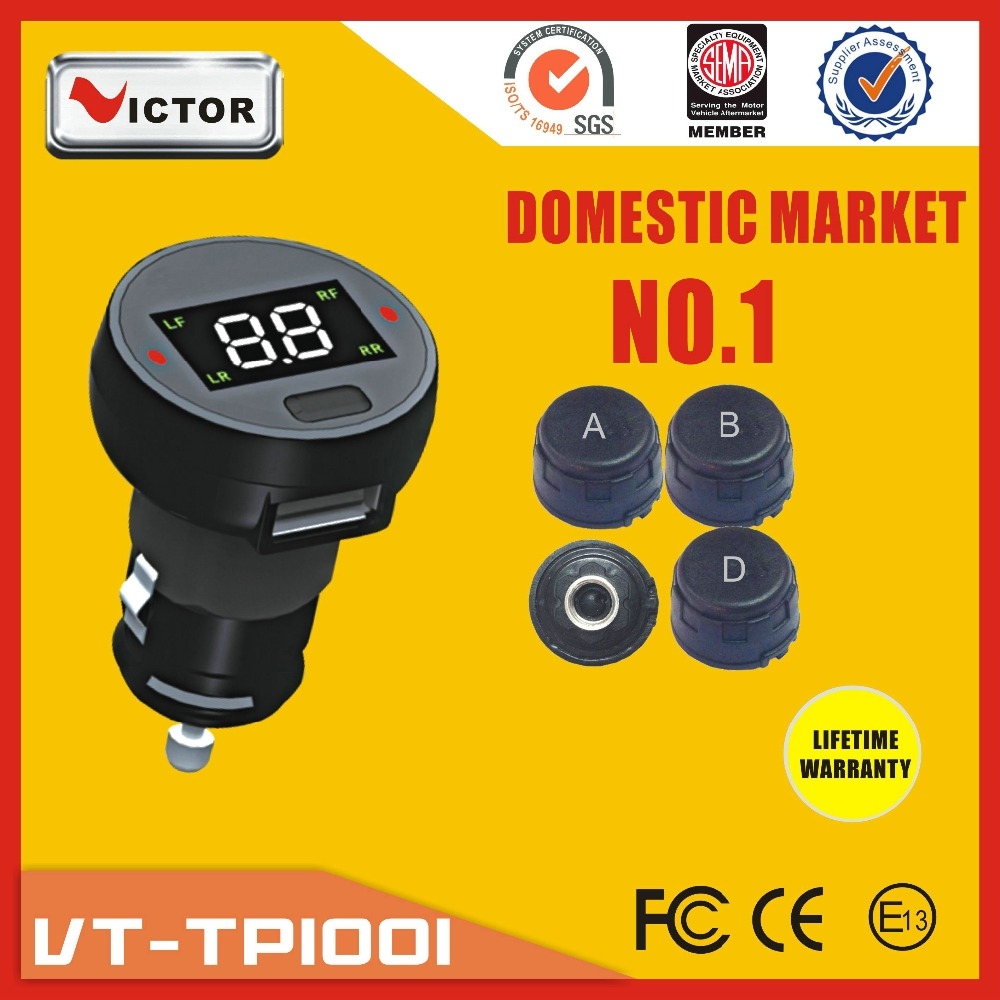 Automobile tpms system with japanese battery