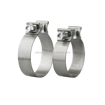 3 inch 304 Stainless steel auto parts exhaust band clamp