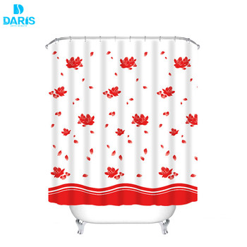 Cheap Price Low MOQ African Print Shower Curtain