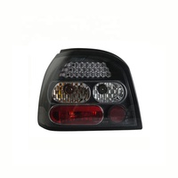 Rear Light Black Housing LED Tail Lamp For VOLKSWAGEN GOLF 3 92-97/Golf 4 '1998-'2002 year