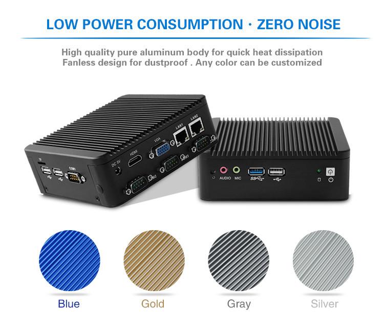 Fanless N2930 Nano Itx 2 Ethernet Mini Pc Server