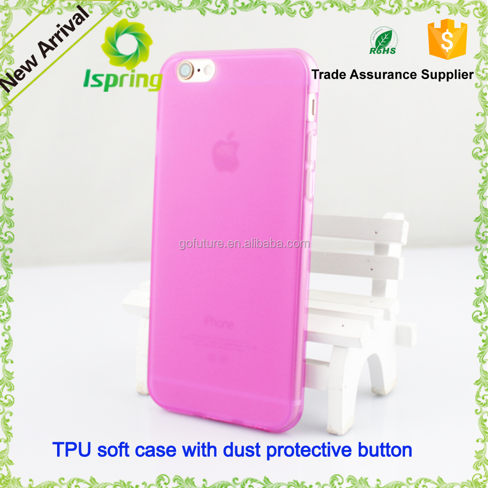 Nice Silicone Rubber Cover soft tpu mobile phone cases for iPhone 6,6s