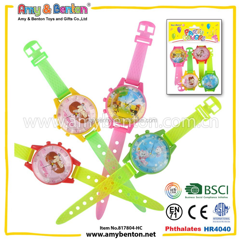 New Design Maze Watch Maze Toy Promotional Gift Plastic Toy Watch