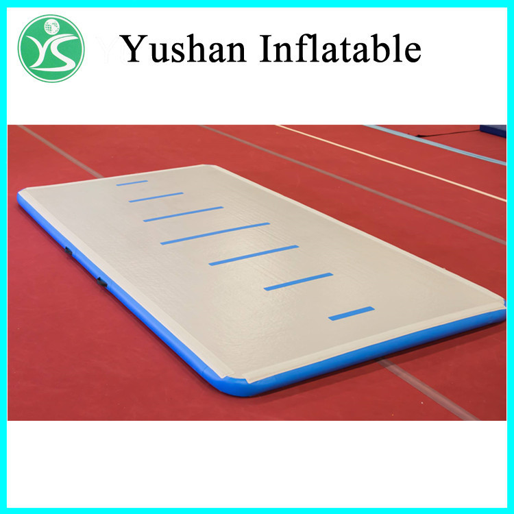 Inflatable air tumble track gymnastics spring landing floor used mat for sale