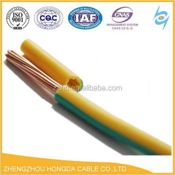 H07v-r / H07v-k Electric Wire Color Codes Electronic Cable And Wires ...