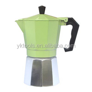 espresso green cordless coffee maker