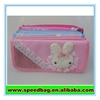 Rabbit in the front cute pencil box