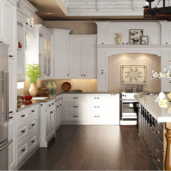 وحدات المطبخ خزائن الخشب الصلب مطبخ مجهز التصميم-خزائن المطبخ-معرف المنتج:60203882218-arabic