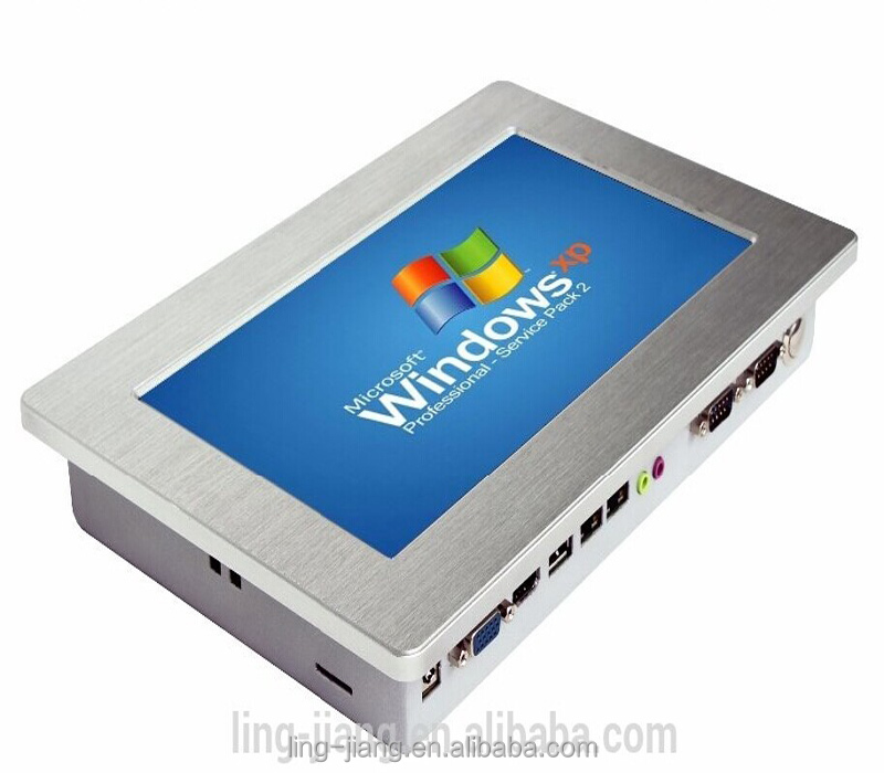 low price 10.1 inch 2com & 4USB ports touch screen industrial PCs