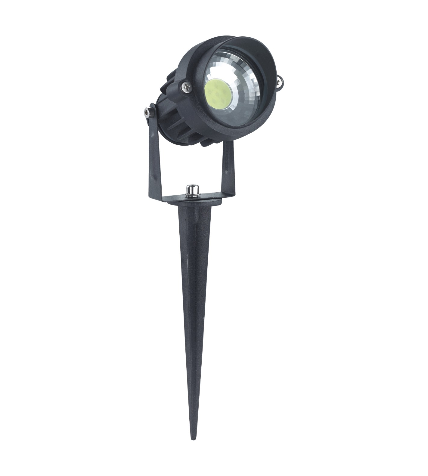 7w 12v Cob Spike Led Spot Lightgarden Led Light With 2 Years