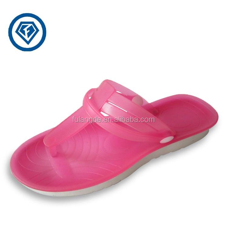 Modern Women Flip Flop Sandals Blank Jelly Flip Flops