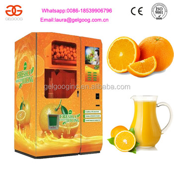 Automatic Customized Fresh Orange Juice Vending Machine Manufacturer