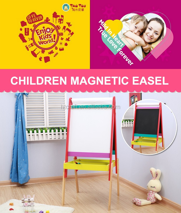 eb009 118cm height kids easel board with chalkboard and magnetic letter board stylish blackboard for
