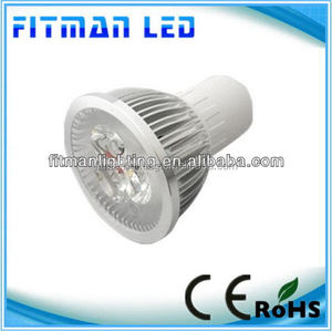 Super quality stylish led spot light for bike Low voltage 3*1W high power led spotlight mr16