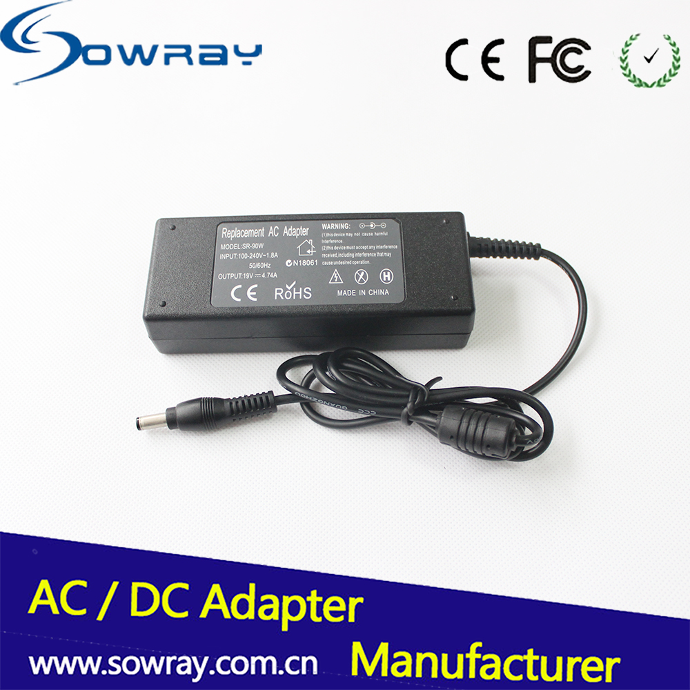 Model Number HR07474A power 90W 19V 4.74A laptop ac / dc adapter for HP